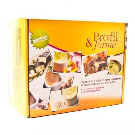 Coffret régime 7 j Option Cacao Profil & forme