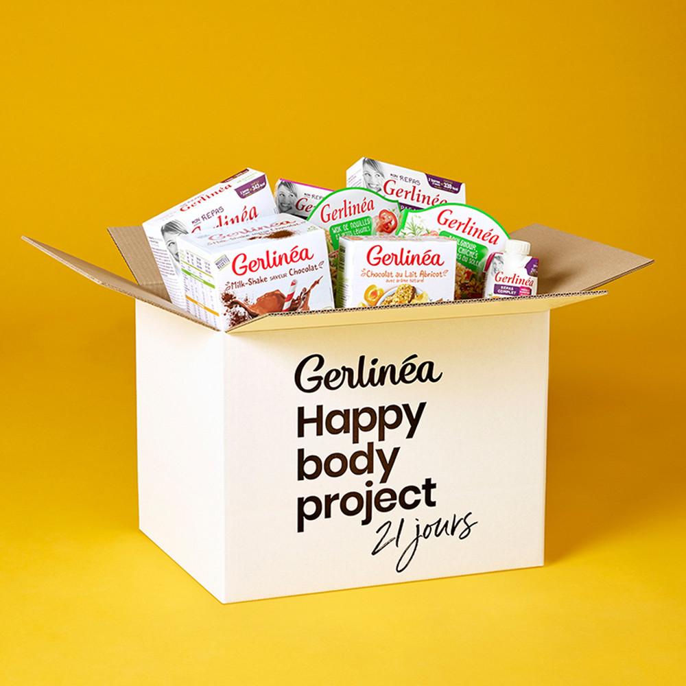 Ma box découverte Happy Body Project 21 jours Gerlinéa
