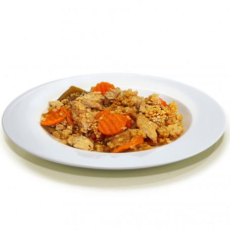 Plat cuisiné Poulet Oriental et Quinoa 300g MinceurD