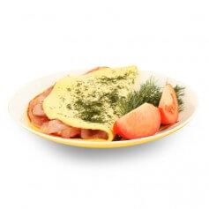 Omelette bacon 15 g