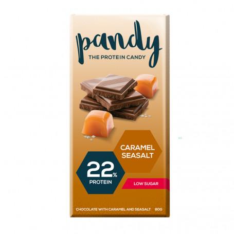 Pandy Protein Tablette chocolat protéinée caramel salé à l'unité
