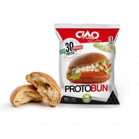 Ciao Carb Protobun Nature Stage 1 petit pain protéiné à l'unité