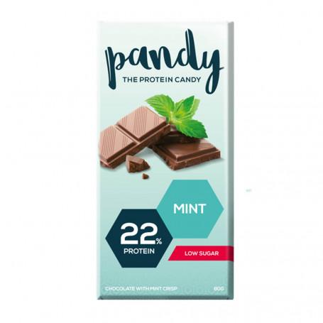 Pandy Protein Tablette chocolat protéinée Choco MENTHE à l'unité