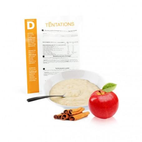 Porridge pomme cannelle
