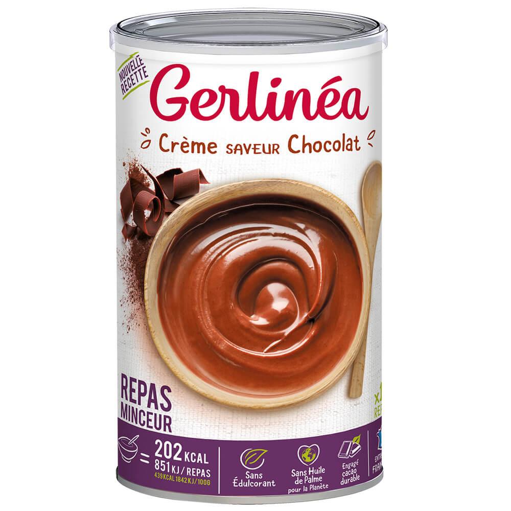 Gerlinea Crème minceur saveur chocolat pot de 18 repas