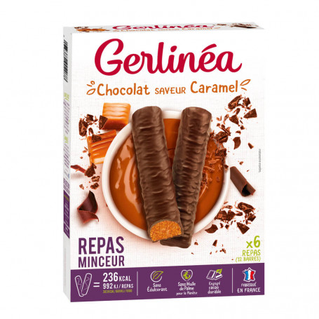 Gerlinéa Barres repas minceur caramel