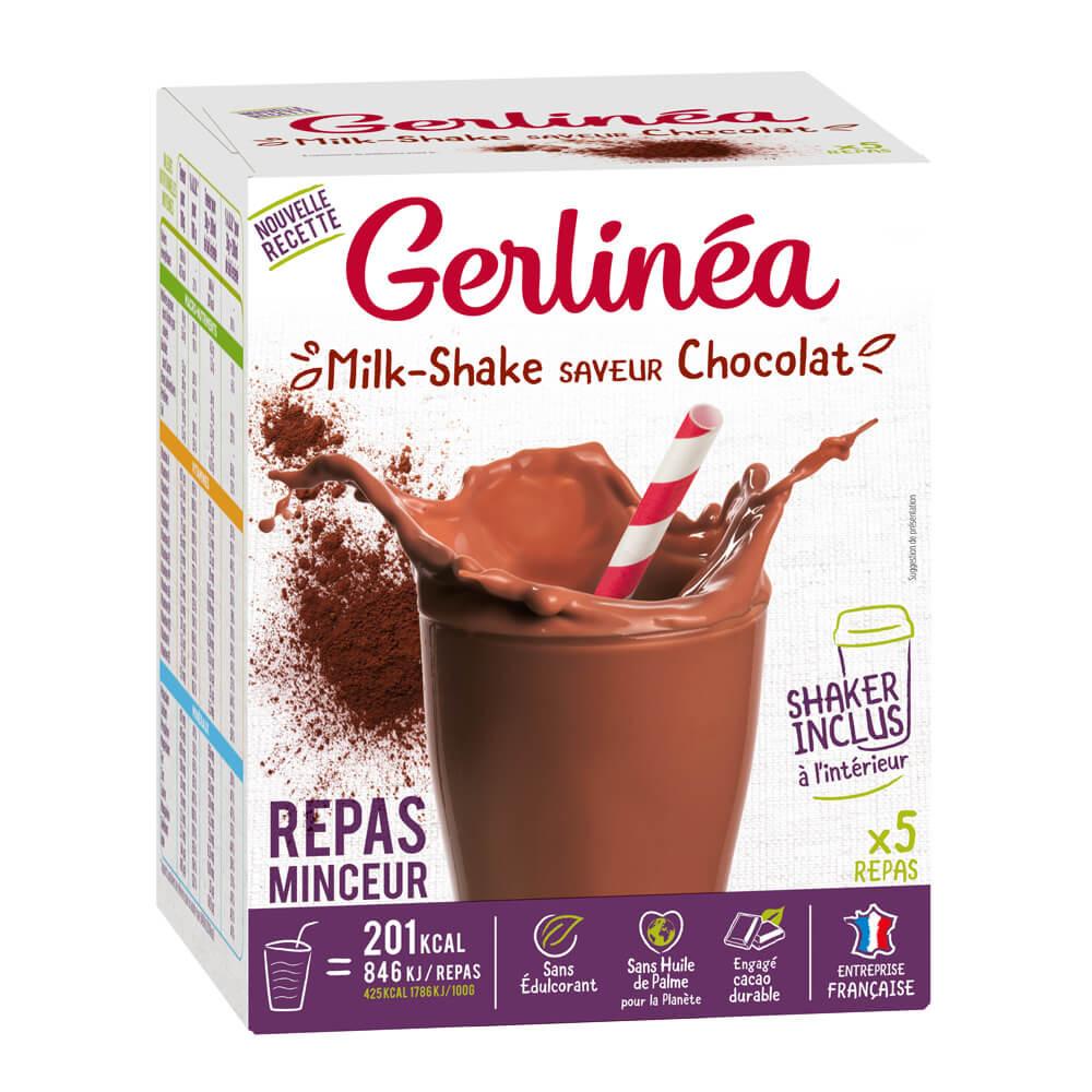 Gerlinéa Milk-shake chocolat boîte de 5