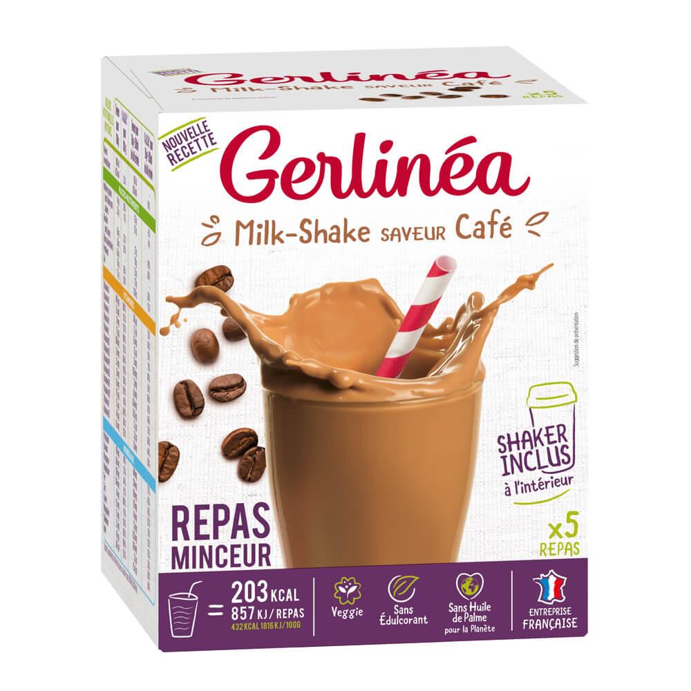 Gerlinea Milk-shake café boîte de 5