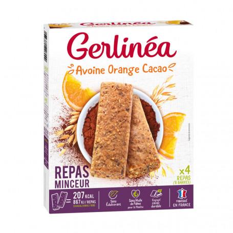 Gerlinea Barres Repas Avoine Orange Cacao Gerlinéa