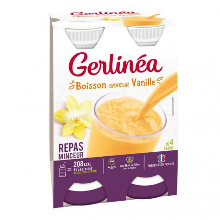 Gerlinéa Repas minceur à Boire VANILLE 4 bouteilles