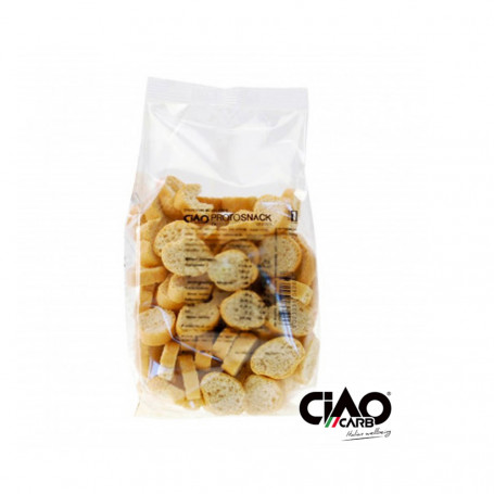 ProtoSnack croûtons huile d'olive CiaoCarb 100g
