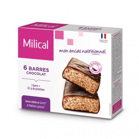 Barre HP Chocolat - étui 6 barres MILICAL