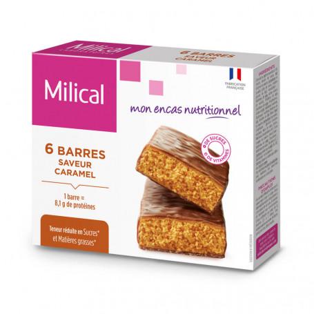 Barre HP Caramel - étui 6 barres MILICAL