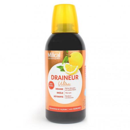 Milical Draineur minceur ultra goût agrumes 500ml