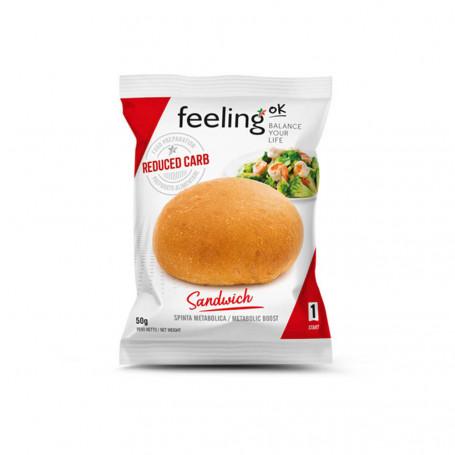 Sandwich petit pain protéiné Start1 à l'unité FeelingOk