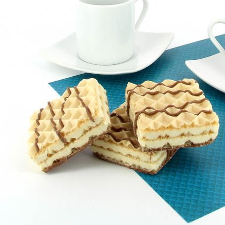 Gaufrettes Protéinées Cookie crème Dietisnack