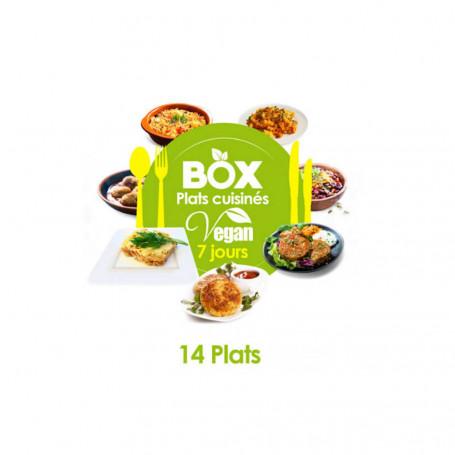 Box 7 jours VEGAN - Régime Plats Cuisinés MinceurD