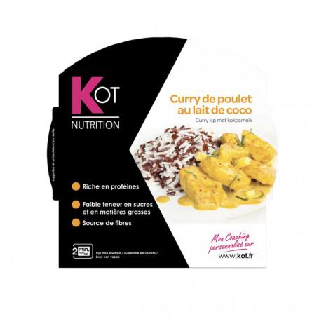 Plat cuisiné Curry de poulet au lait de coco KOT