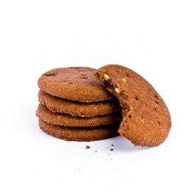 Biscuits chocolat noisette