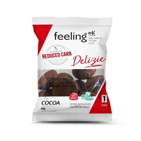 Biscuits protéinés Delizia Cacao Start FeelingOk