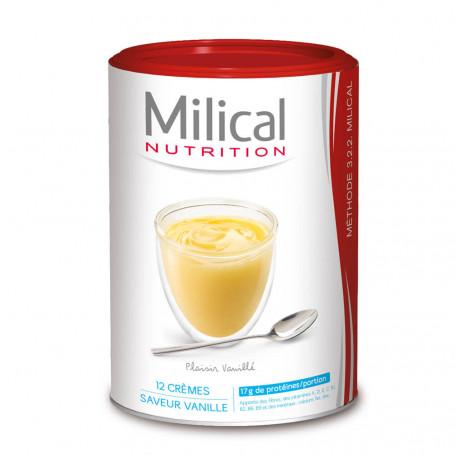 MILICAL Crème hyperprotéinée Vanille Pot ECO 12 portions