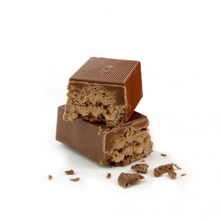 Barres protéinées Gaufre arôme CHOCOLAT boîte de 7 Dietisnack