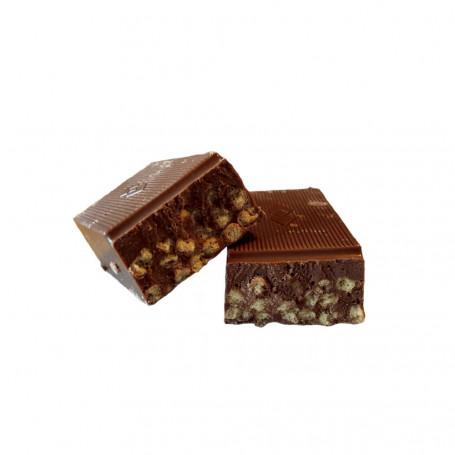 Barres hyperprotéinées arôme Choco Crisp boîte de 7 DietiSnack