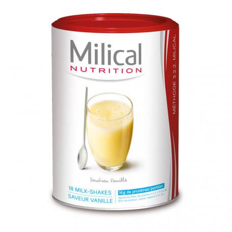 MILICAL Milk-shake hyperprotéiné VANILLE Pot ECO 18 portions