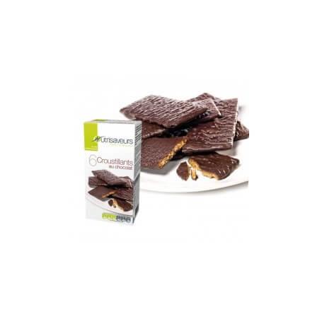 Croustillants au chocolat