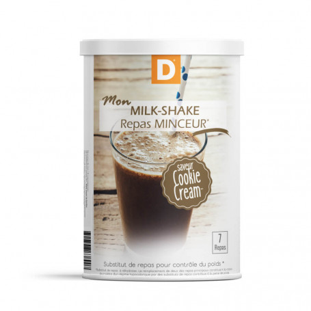 Mon milk-shake repas minceur saveur Cookie Cream MinceurD