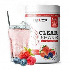 Clear Shake Iso protein Water Fruits rouges 750g Eric Favre