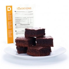 Cake minute Chocolat hyperprotéiné MinceurD