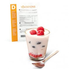 Dessert protéiné Yaourt Fruits rouges MinceurD