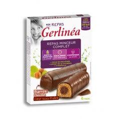 Barres repas minceur Chocolat Coeur praliné - Gerlinéa
