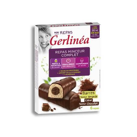 Barres Repas Amande Coeur chocolat