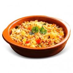 Plat cuisiné Taboulé de Quinoa végétalien barquette 320g MinceurD