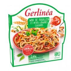 Wok de nouilles et petits légumes - Repas Gerlinéa