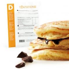 Pancake et Pâte à tartiner Chocolat