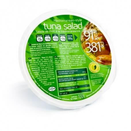Salade de Thon à la méditerranéenne