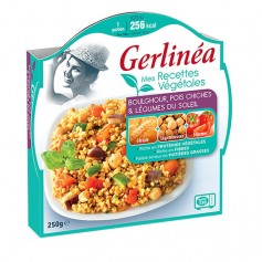 Plat diététique végétal Boulghour Pois chiches - Gerlinéa