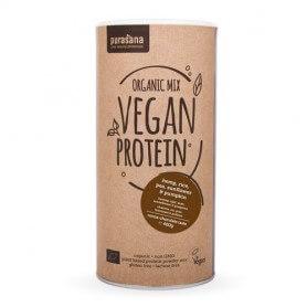 Protéine de Petits-pois, Riz, Tournesol et Chanvre - Cacao
