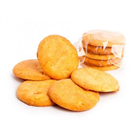 Biscuits aux morceaux d'oranges confits