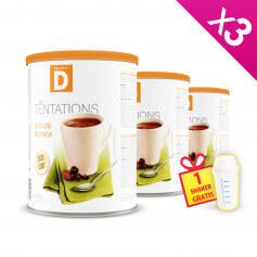 Boisson protéinée Cacao Pot ECO MinceurD - Lot de 3