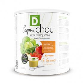 Soupe au chou et aux légumes