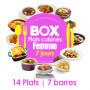 Box 7 jours FEMME - Régime Plats Cuisinés MinceurD