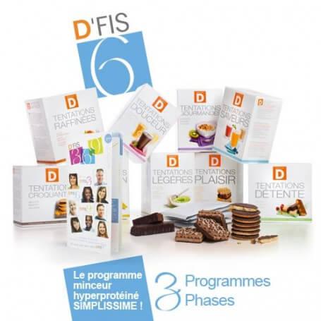 Pack Minceur D'FIS 6