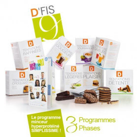 Pack Minceur D'FIS 9