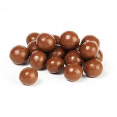 Boules de soja protéinées enrobées de Chocolat