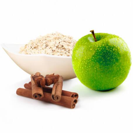 Gruaux d'avoine Pomme Cannelle riche en protéines