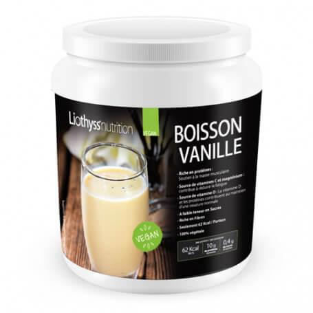 Boisson Vanille Protéines Vegan Pot ECO